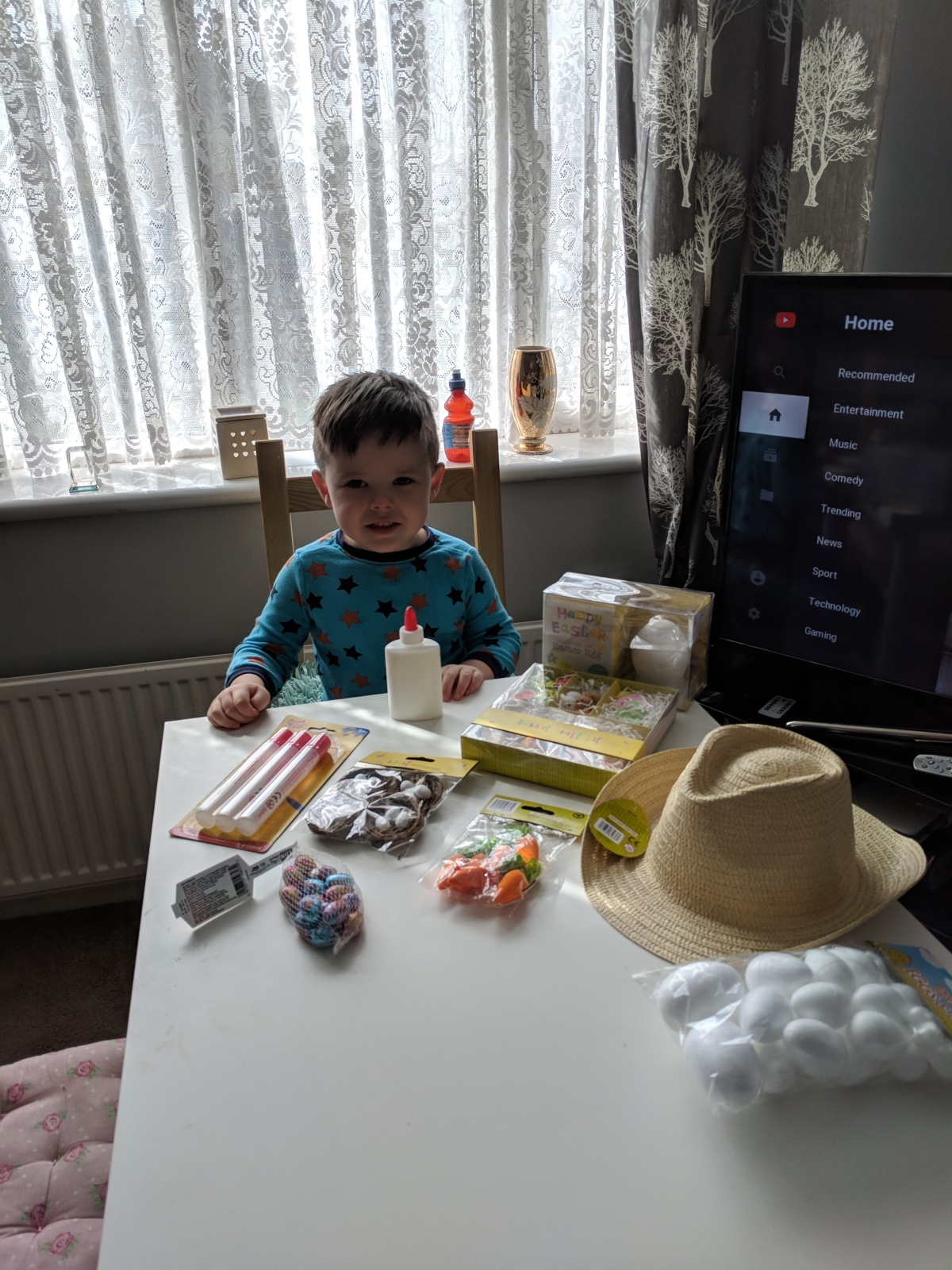 Easter project with Theo