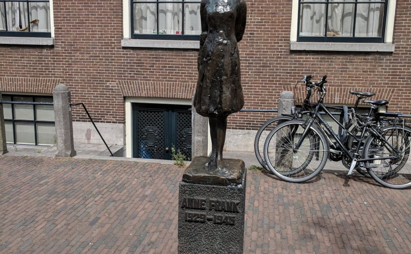 The Go To Girls Blog meets Anne Frank…….