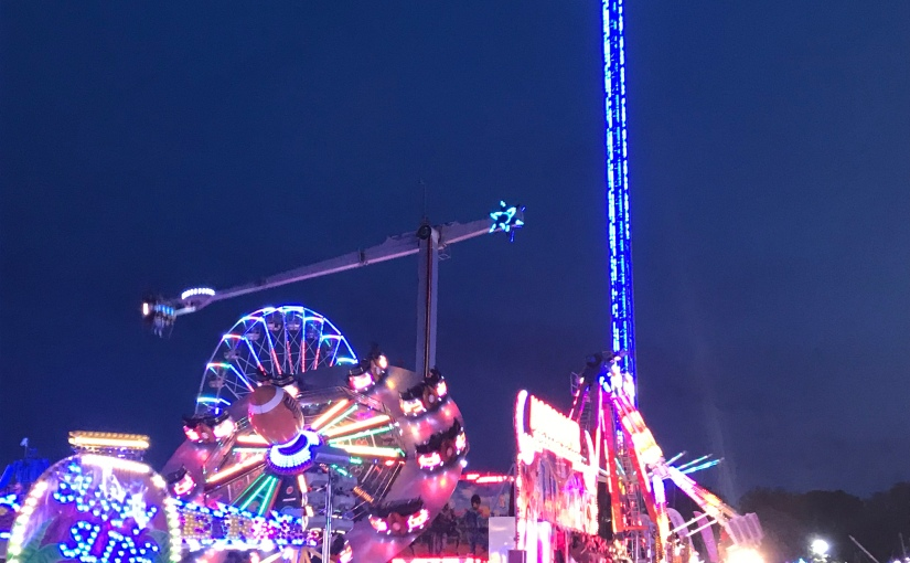 The Go To Girl Visits Hull Fair……..